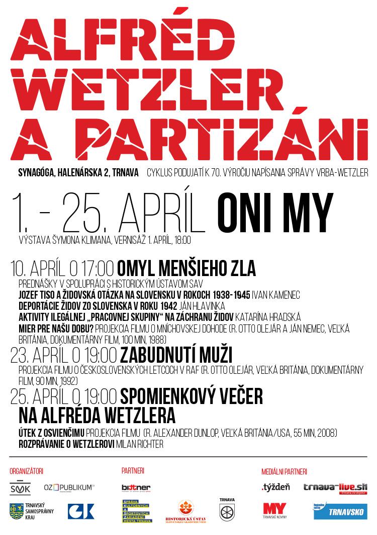 Alfréd Wetzler a partizáni