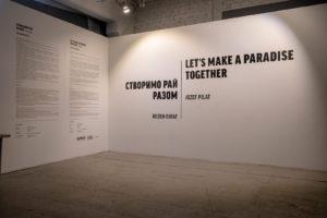 Let's make a paradise together, Kyjev
