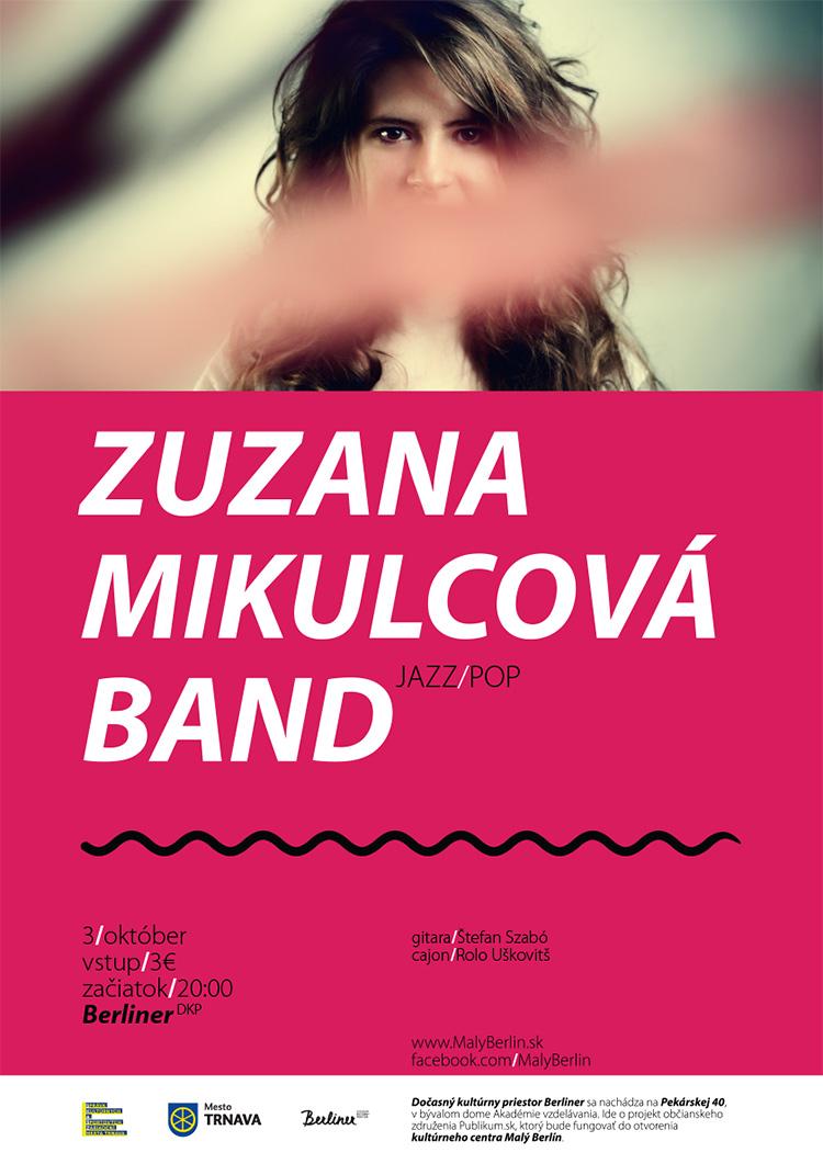 koncert Zuzana Mikulcová Band