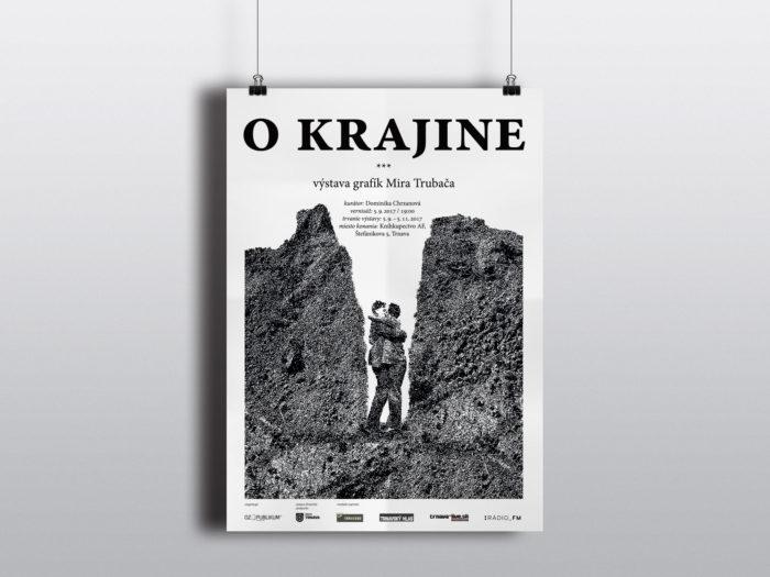 O krajine, výstava Mira Trubača