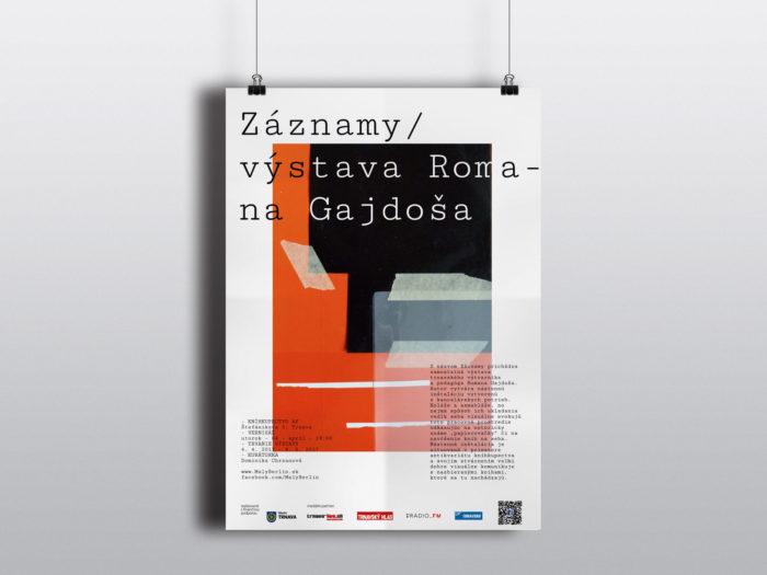 Záznamy, výstava Romana Gajdoša