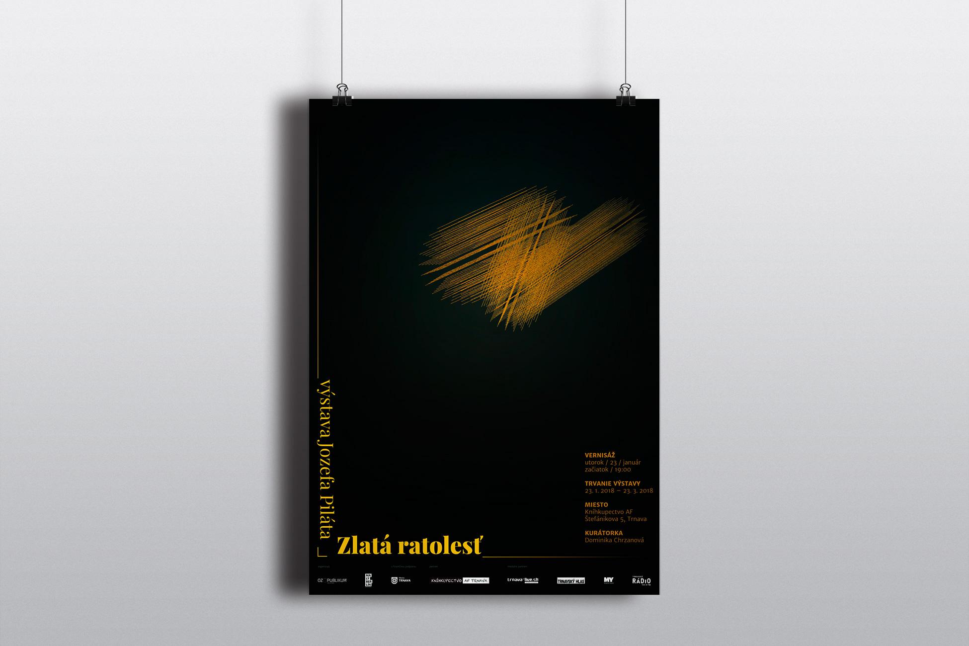Zlatá ratolesť - plagát